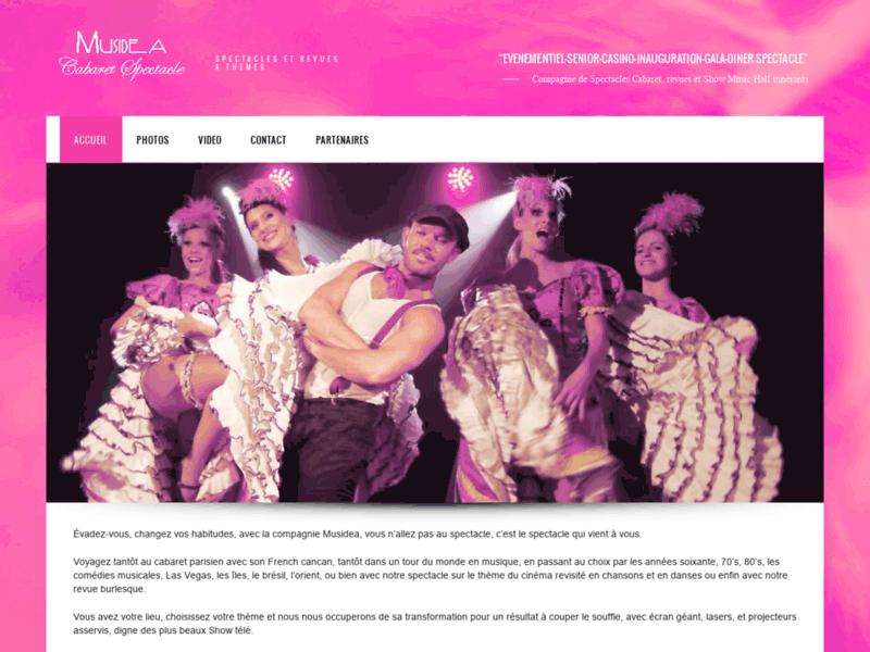 Revue Cabaret et spectacles music hall à thèmes