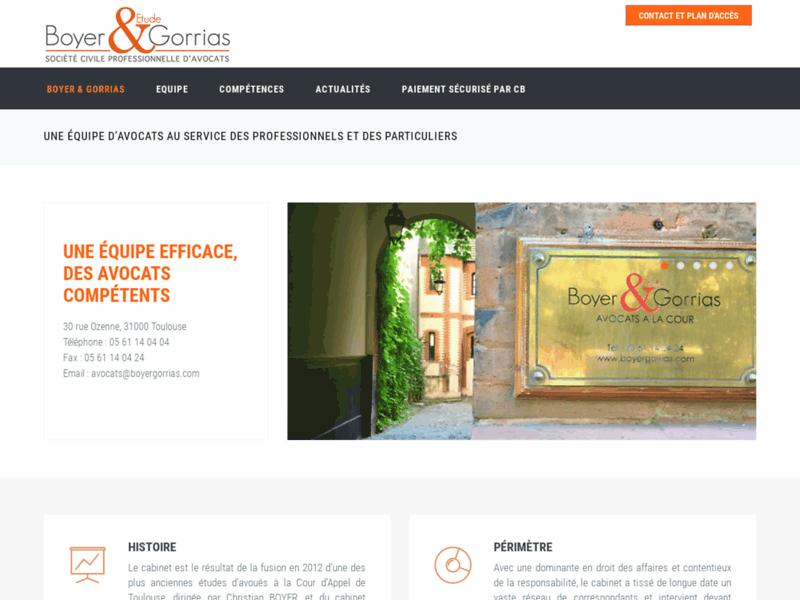 Cabinet Gorrias : Avocat Toulouse