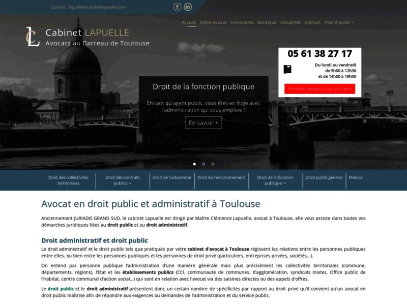 Me Lapuelle, avocat droit administratif à Toulouse