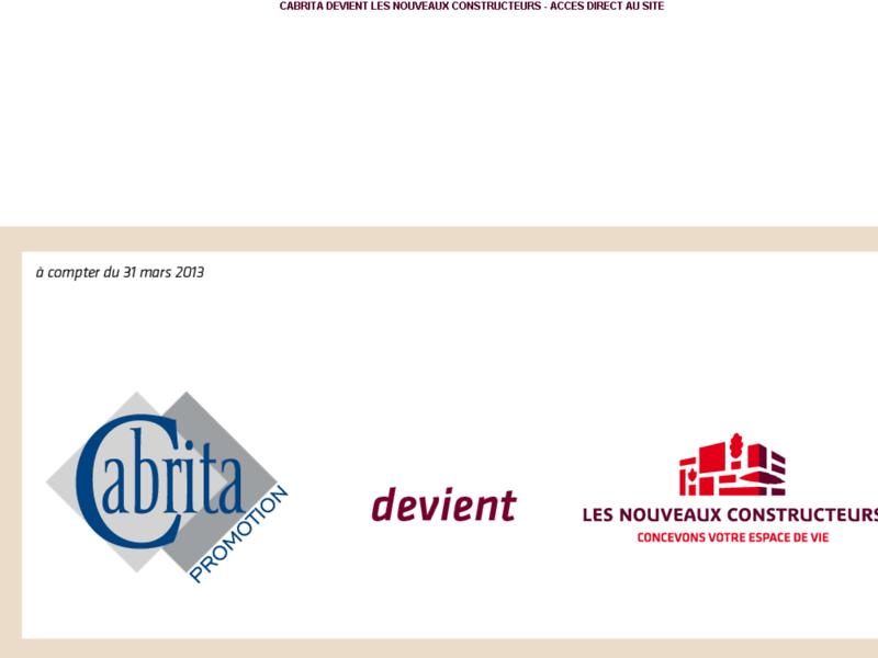 Cabrita Promotion : Promoteur immobilier Toulouse