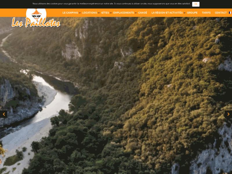 Camping en Ardèche avec mobil home