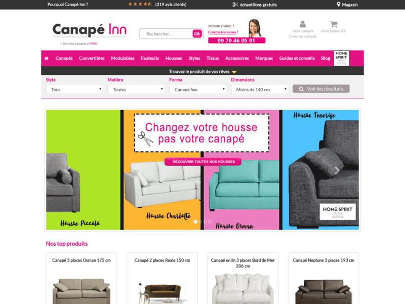 Canapé Inn, spécialiste des canapés design personnalisables