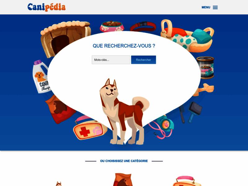 Canipédia, site d'information sur les chiens