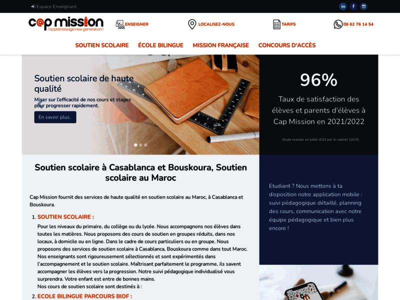 Cap Mission, centre de langues à Casablanca