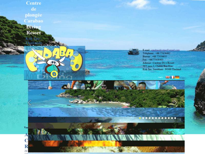 Plongée Française à Koh Tao avec Carabao Dive Resort