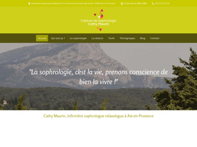 Maurin Cathy, cabinet de sophrologie, Aix-en-Provence