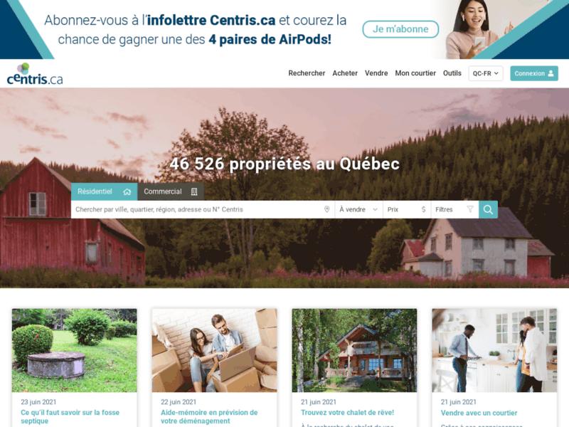 Maison à vendre au Québec