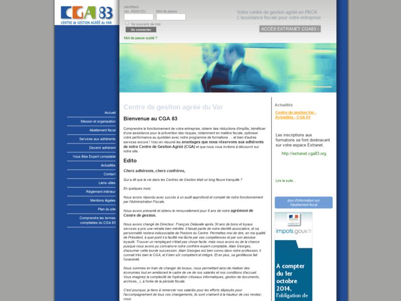 Cga83, centre de gestion agréé du Var