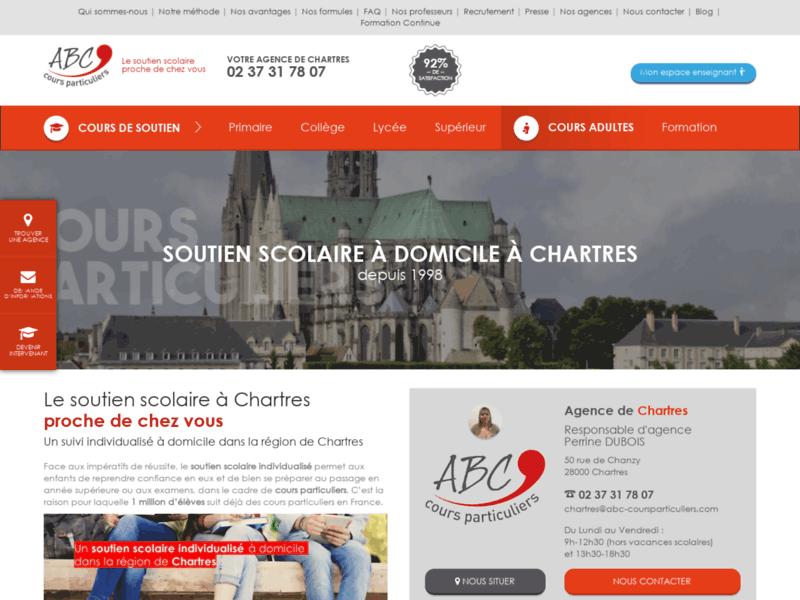 Soutien scolaire à Chartres