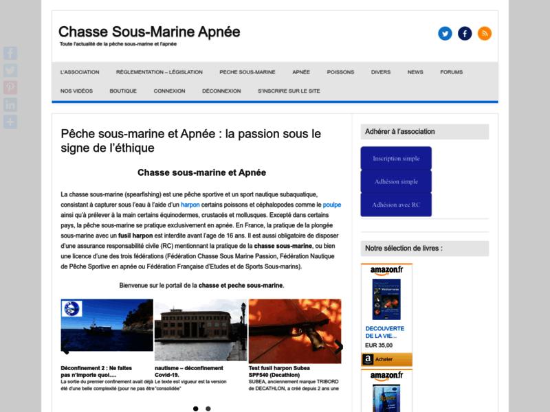 Chasse sous marine et Apnée
