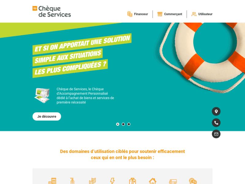 Le Chèque de Services, un outil d'action sociale pour la lutte contre l'exclusion