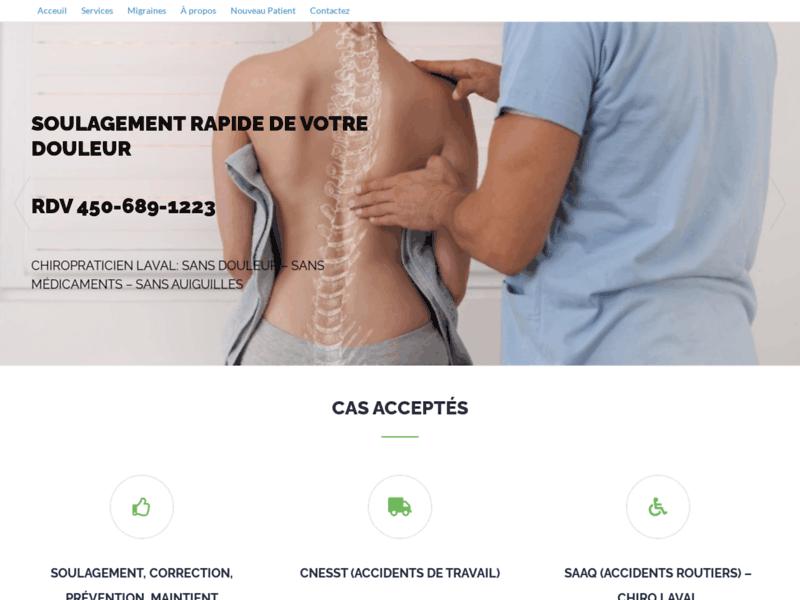 Dr Lachance, clinique chiropratique à Laval depuis 20 ans