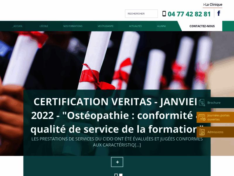 Ecole osteopathie