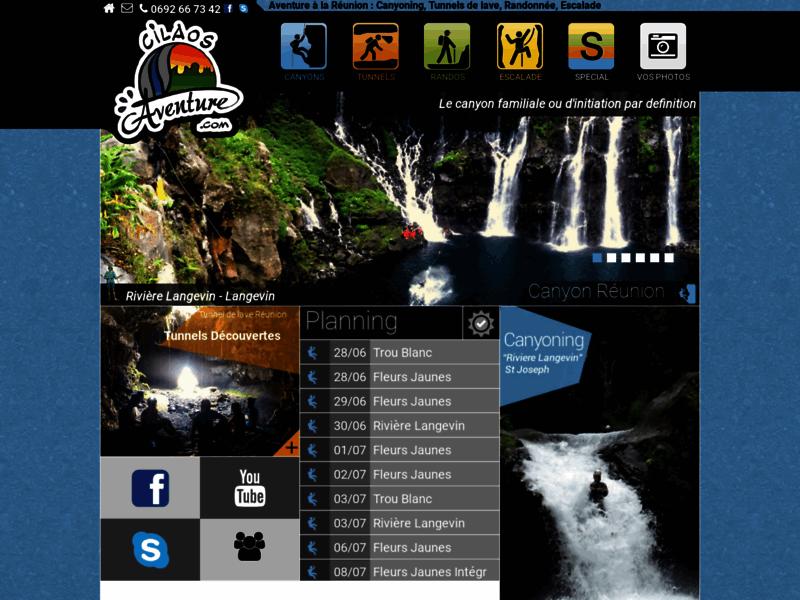 CilaosAventure - Canyoning Réunion - Tunnels de Lave