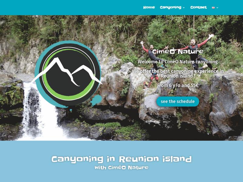 Canyoning à la Réunion - Ciméo-nature