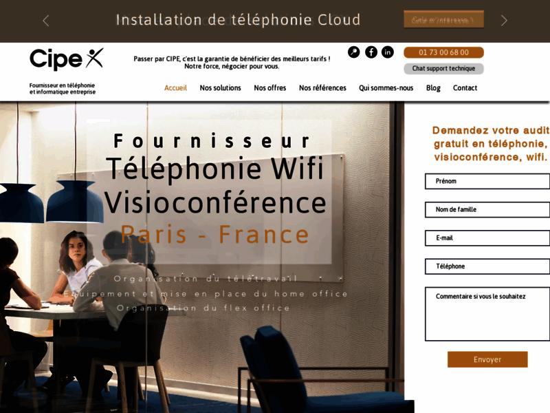 Installateur de solutions de télécommunication