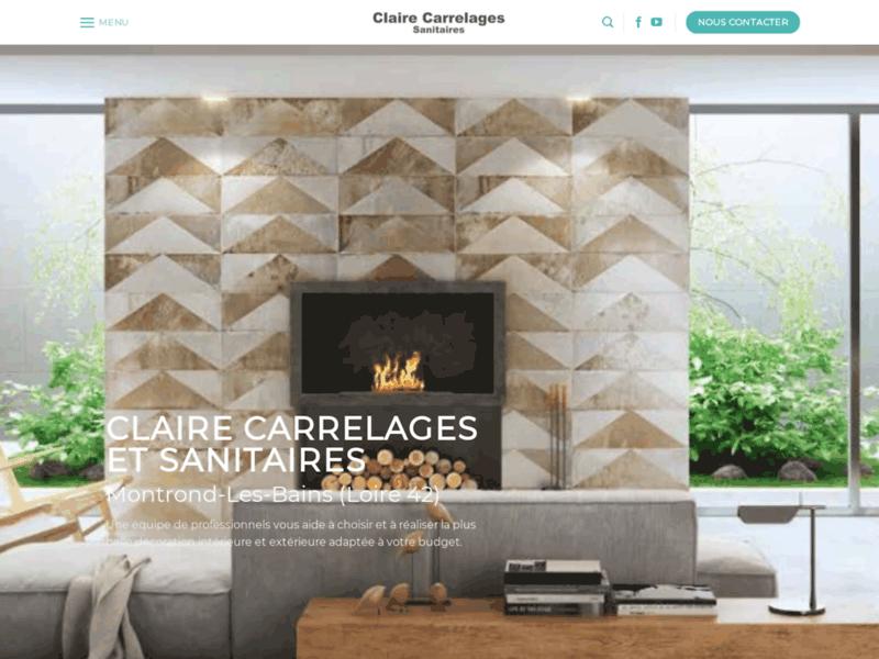 Claire Sanitaires Robinetterie Carrelages Lyon St-Etienne