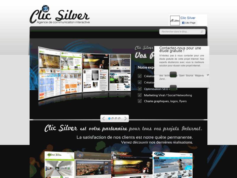 Création de site Internet à Paris, Lyon, Marseille | Clic Silver