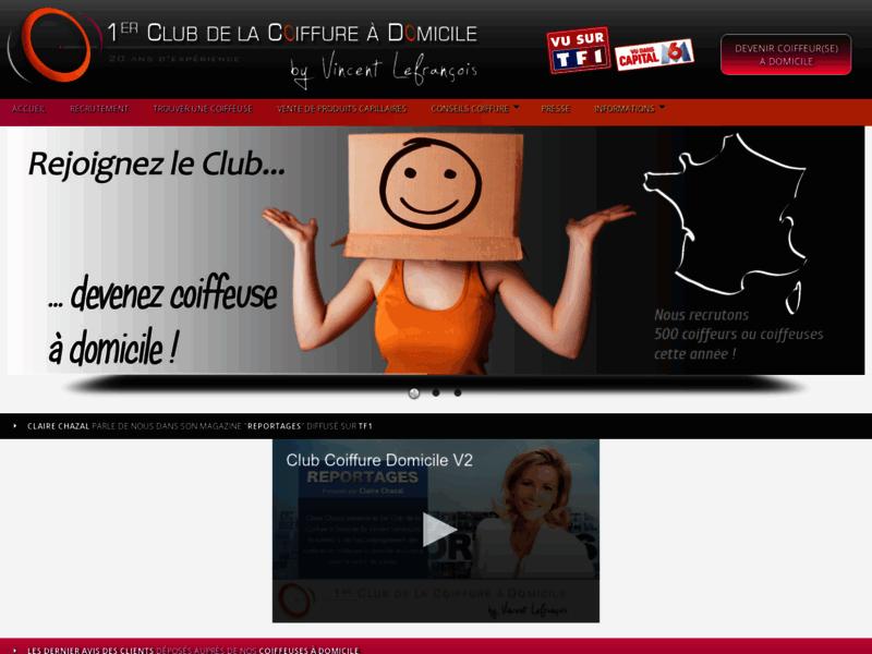 1er Club de la Coiffure à Domicile By Vincent Lefrançois