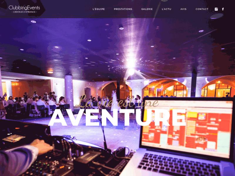 Clubbing Events, sono DJ à Roanne