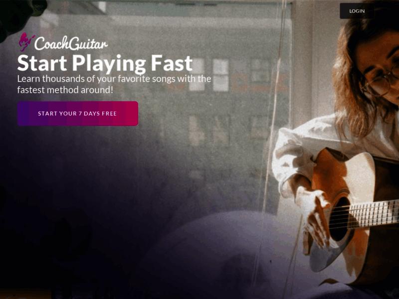 Coachguitar : logiciel de guitare