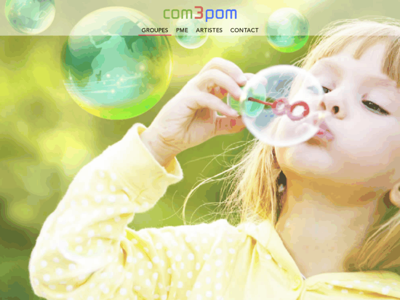 com3pom - création de sites internet
