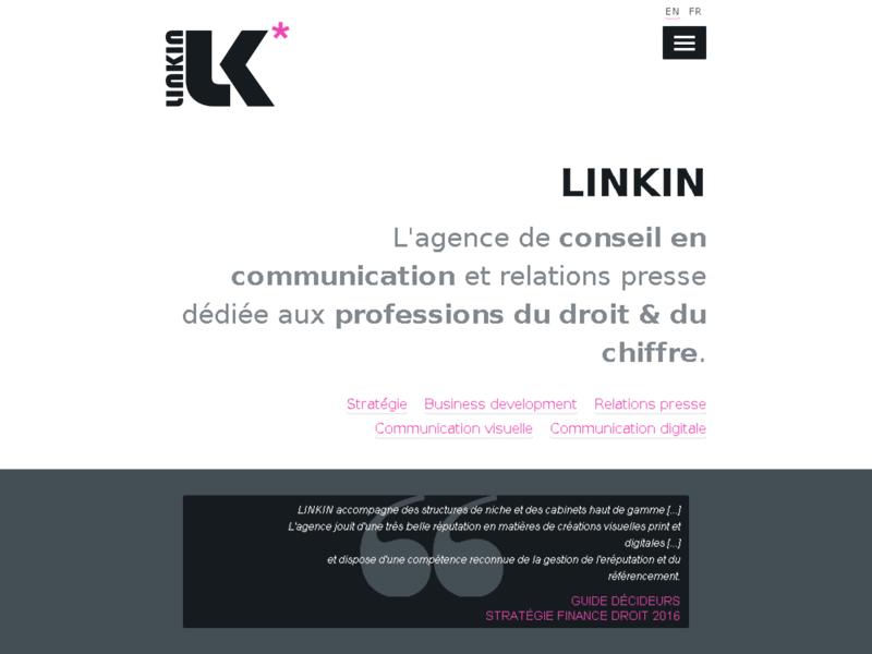 Linkin : Communication des Cabinets d'avocats