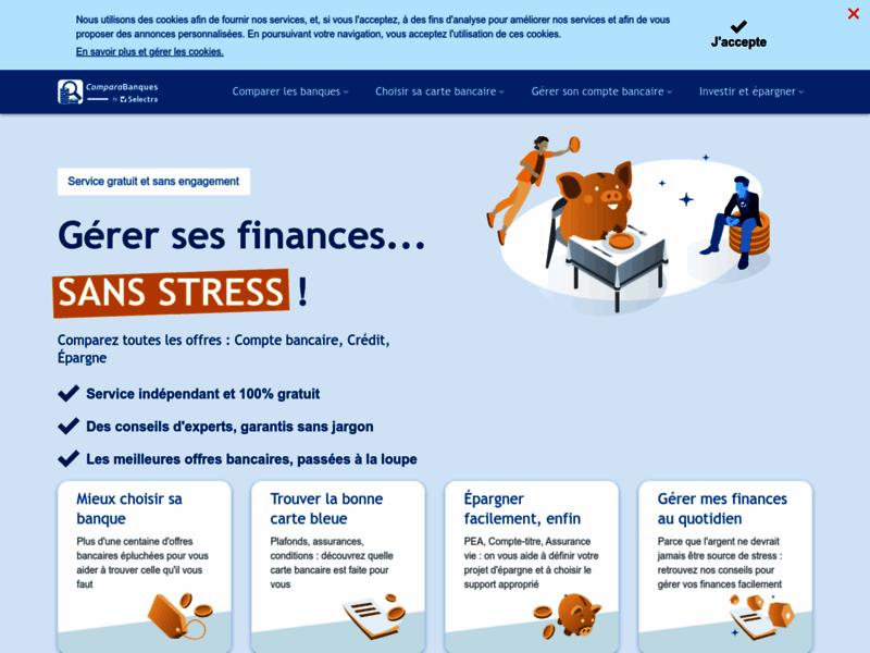 Comparabanques : comparateur banques en ligne