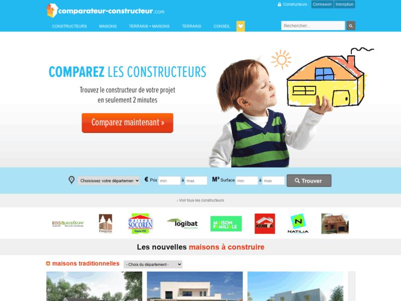 Comparateur-constructeur.com - comparateur de constructeur de maison
