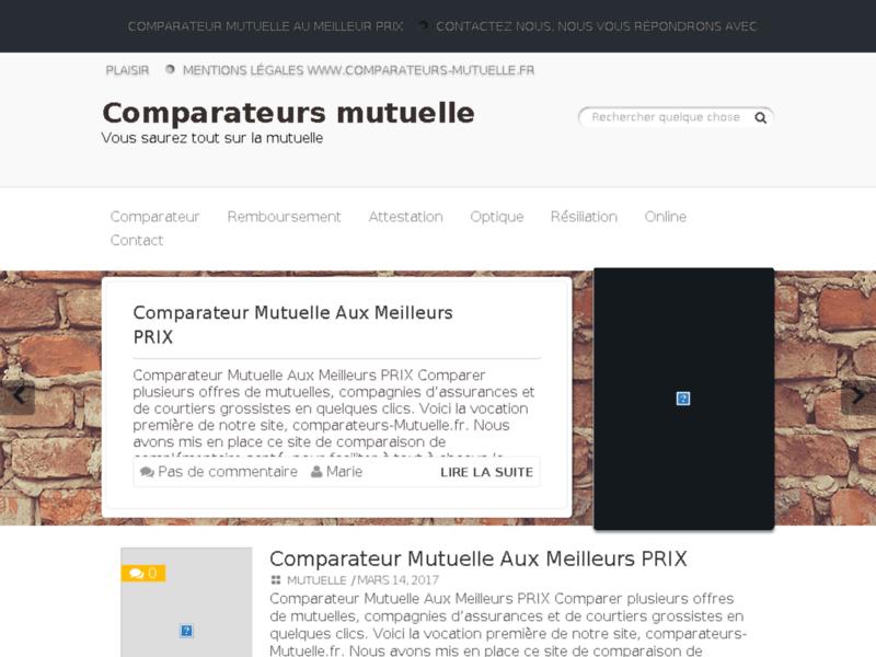 Comparateur mutuelle