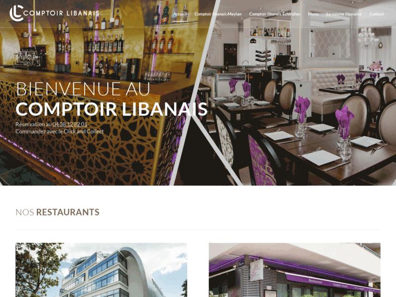 Comptoir libanais, restaurant libanais à Grenoble
