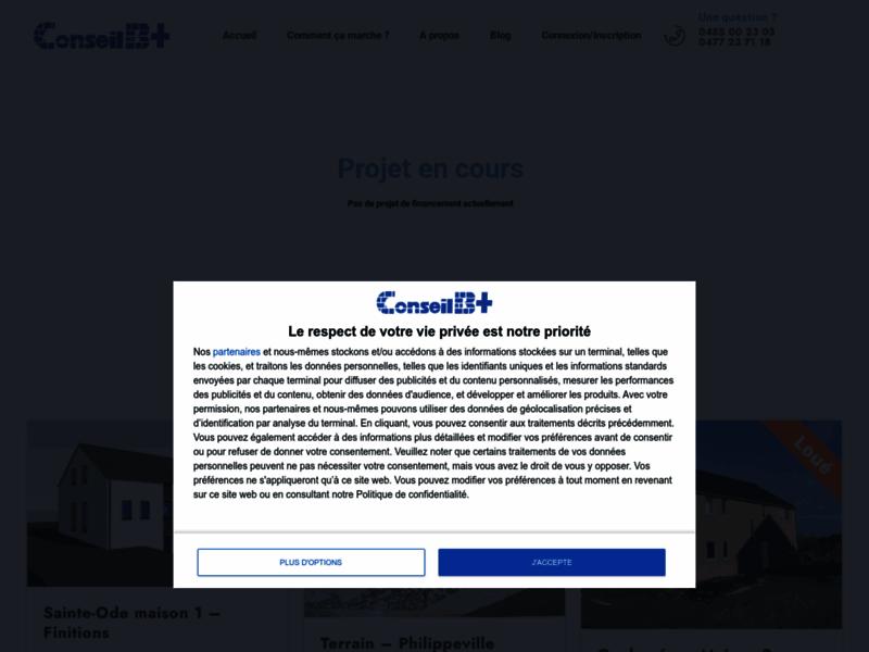 Conseilbplus, financement participatif en immobilier