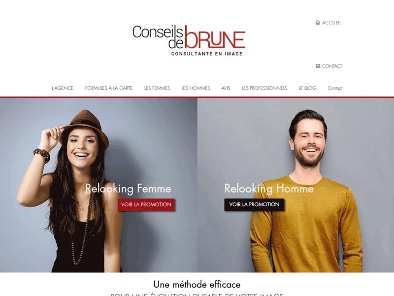 Conseils de brune : conseil en image et relooking Bordeaux