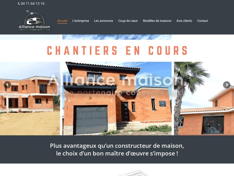 Construction de maison à Perpignan - Maitre d'œuvre - Alliance maison