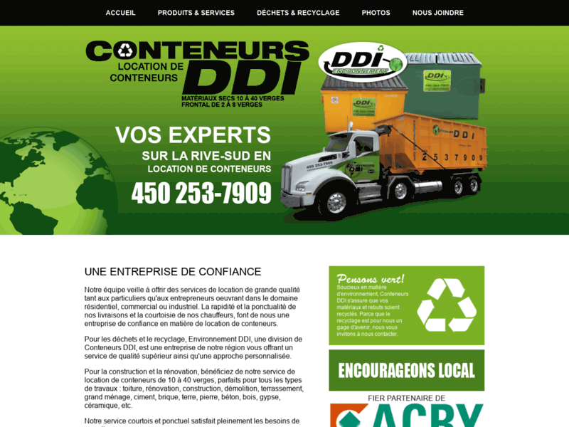 Conteneur DDI | Location de conteneurs