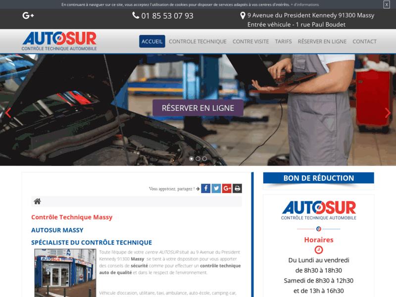 AUTOSUR à Massy: Votre spécialiste du contrôle technique