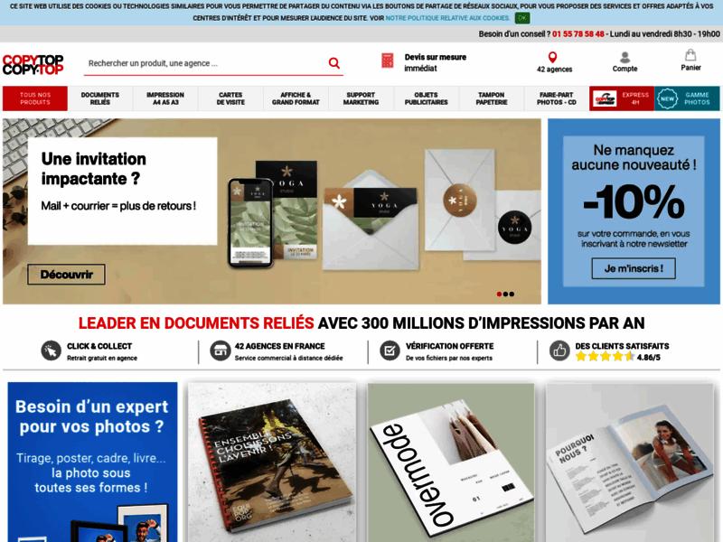 COPY-TOP, Imprimerie numérique pour entreprises
