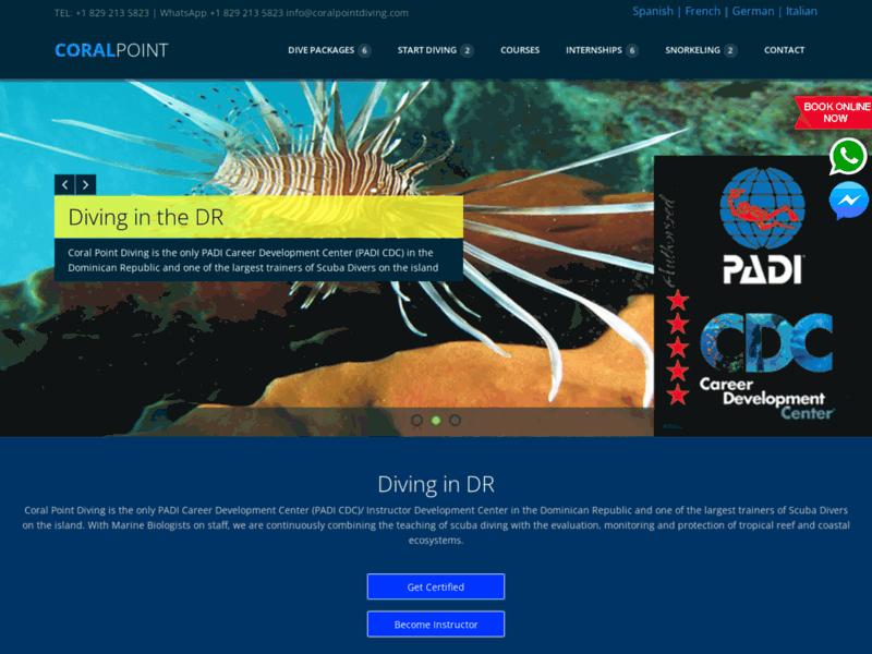 Votre centre PADI Dive Resort à Bayahibe, Coral Point Diving
