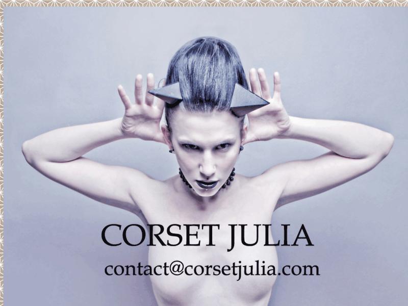 Corset Julia: univers corset, lingerie et vêtements sur mesure