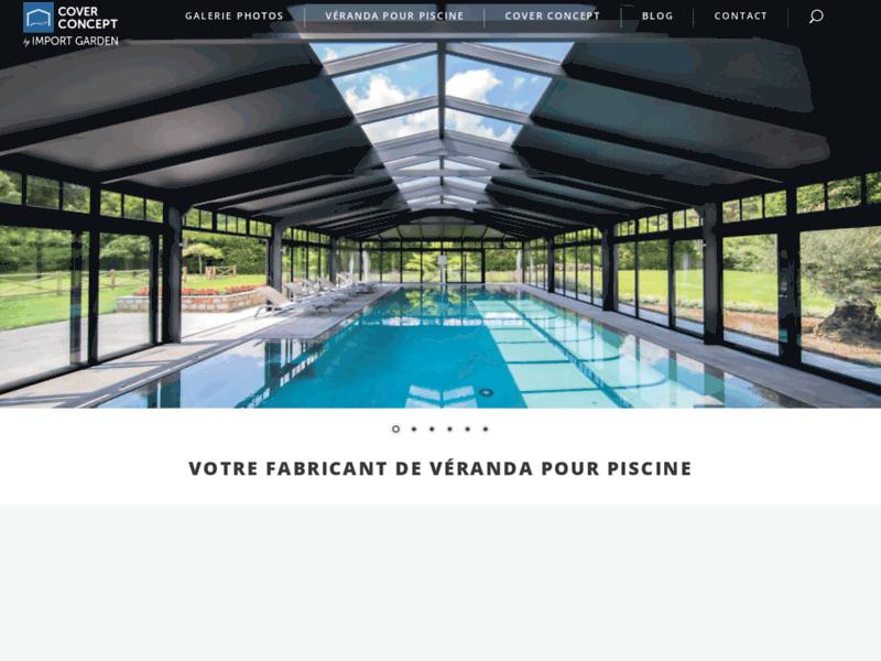 Cover Concept : le spécialiste de la véranda de piscine en aluminium