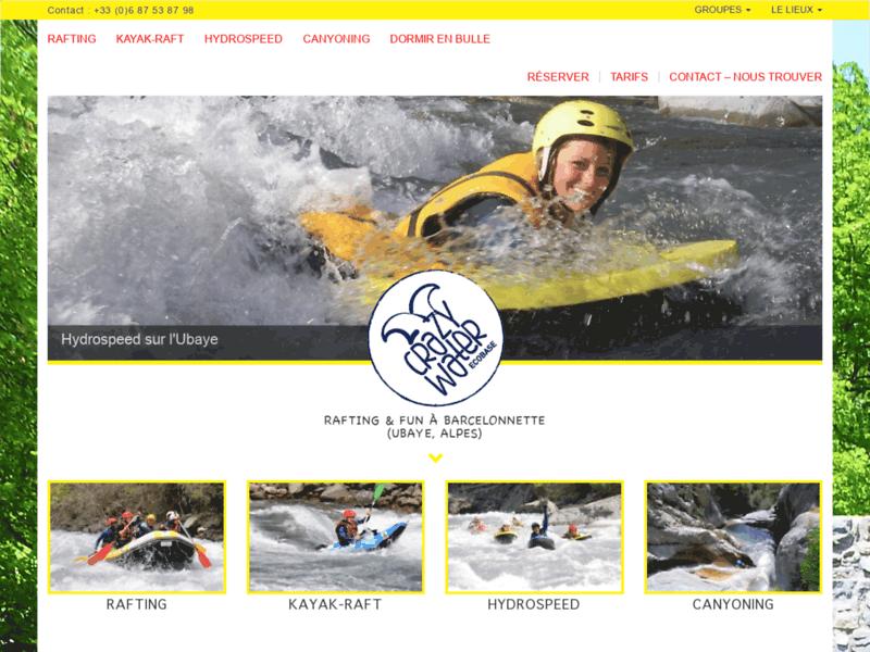 Rafting et sports d'eaux vives à Barcelonnette
