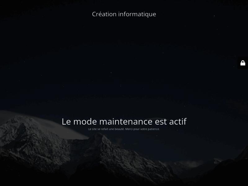 Création Informatique : Site web design, devis Gratuit