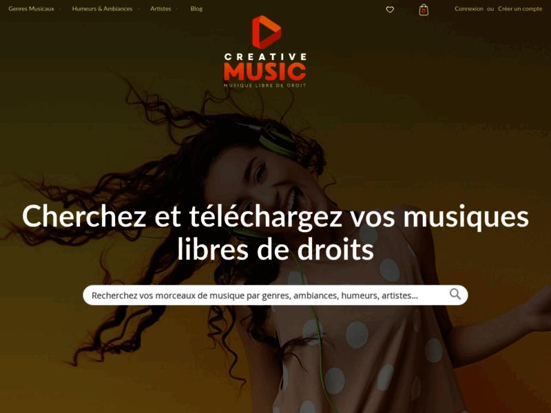 Créative Music : musique libre de droit