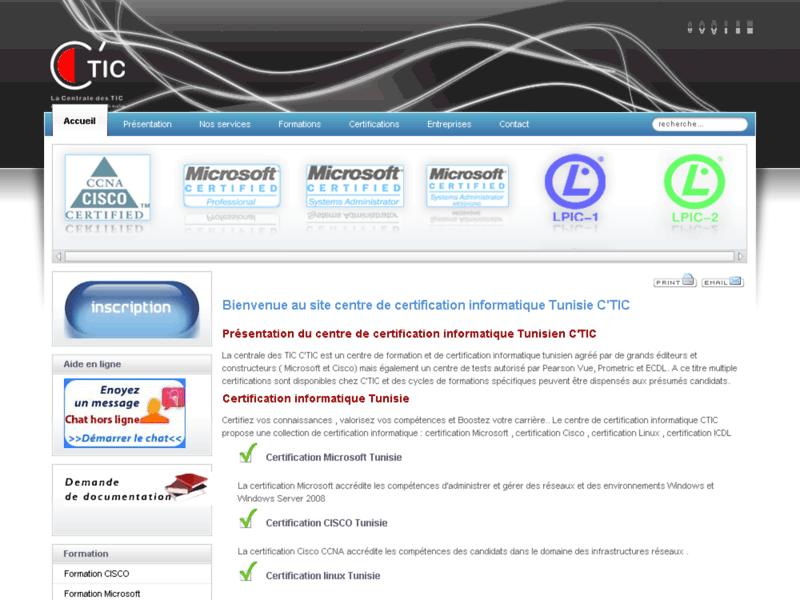 Centre de certification informatique C'TIC
