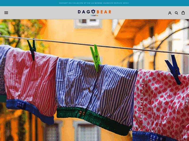 Dagobear – Caleçons et Chaussettes élégants et colorés