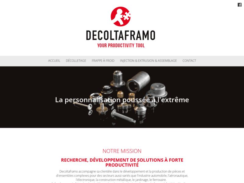 Décolletage et Usinage - DecoltaFramo