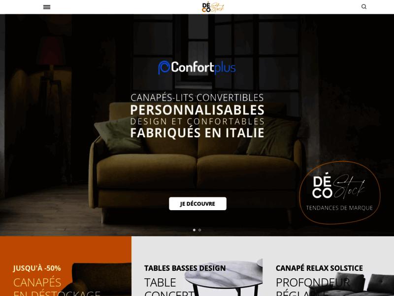 Decostock : du mobilier neuf à petit prix