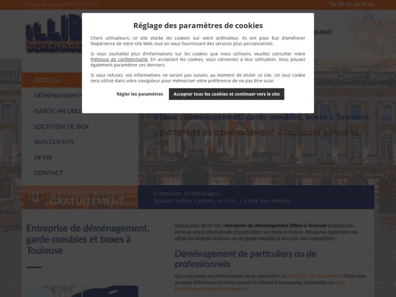 Entreprise de déménagement à Toulouse depuis 47 ans