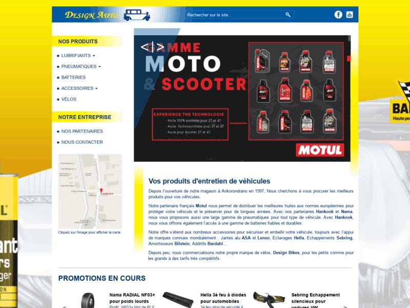 Produits d'entretien pour véhicules, Antananarivo