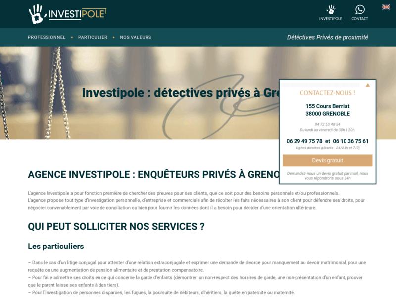 Investipole Grenoble